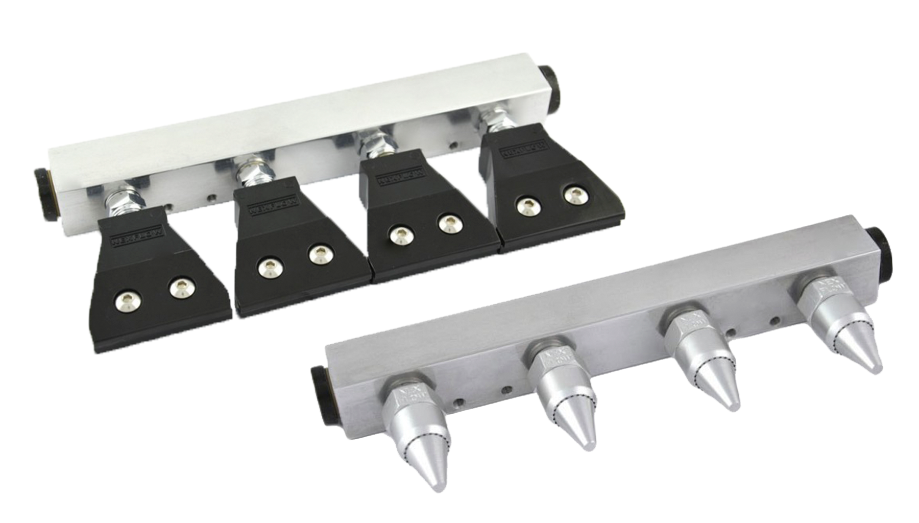 Four air nozzle manifold