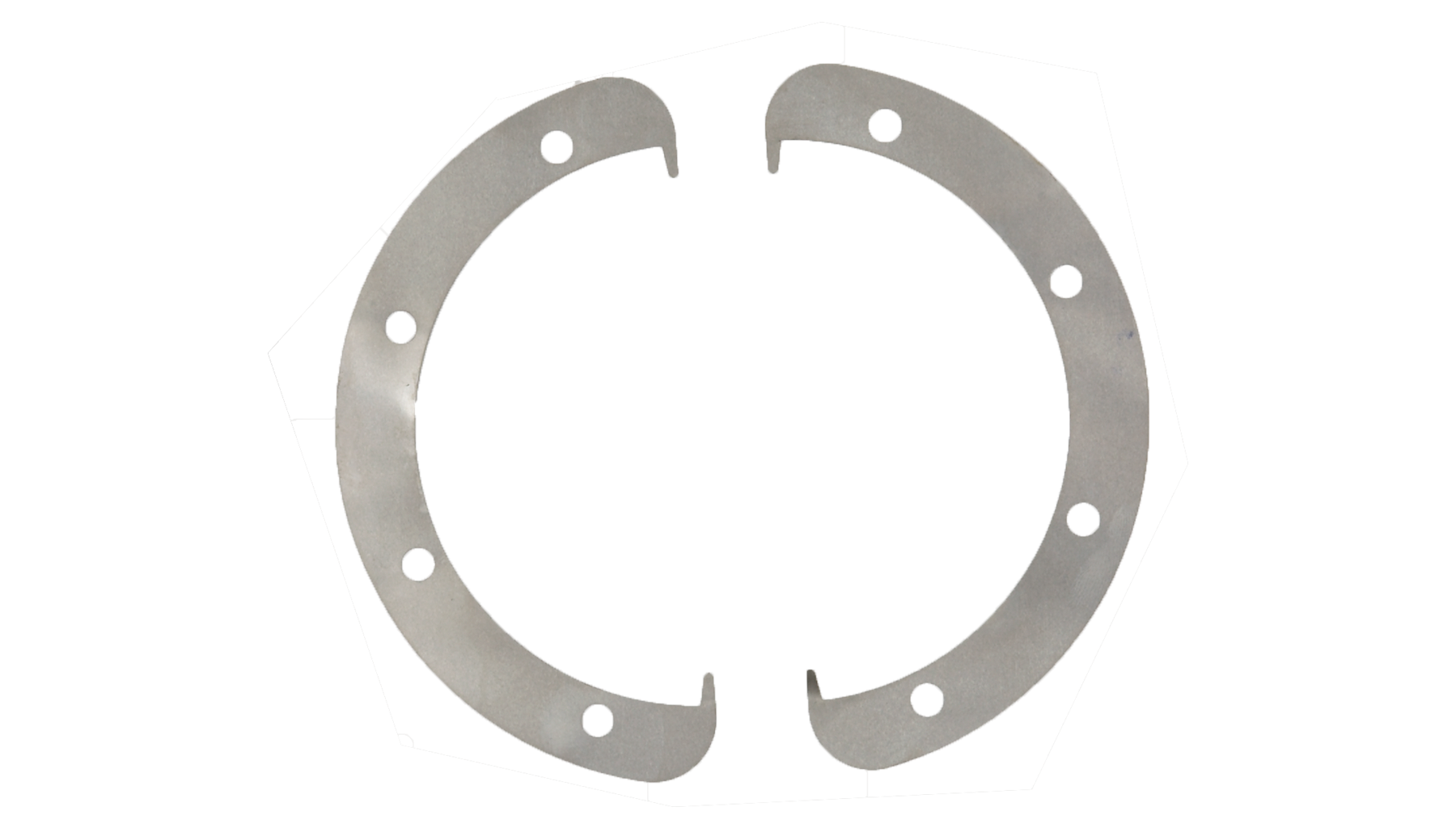 Shims for ring blades